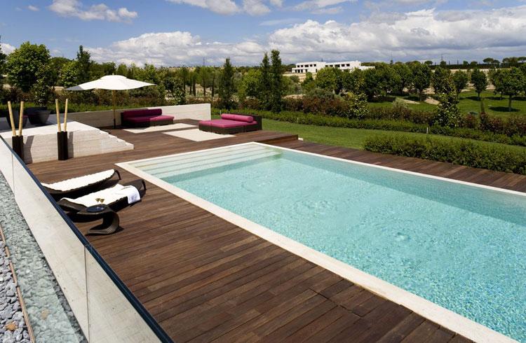 Photo of the modern design swimming pool # 27