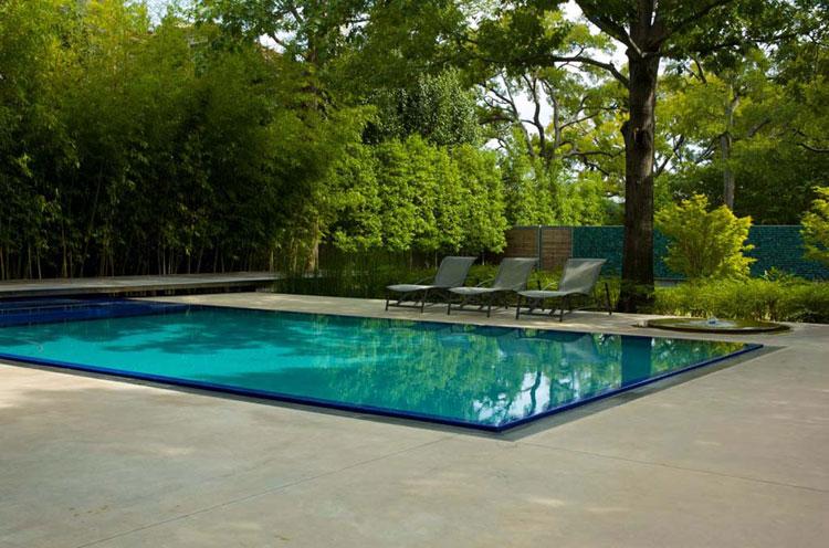 Photo of the modern design swimming pool # 24