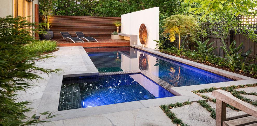 Photo of the modern design swimming pool # 12
