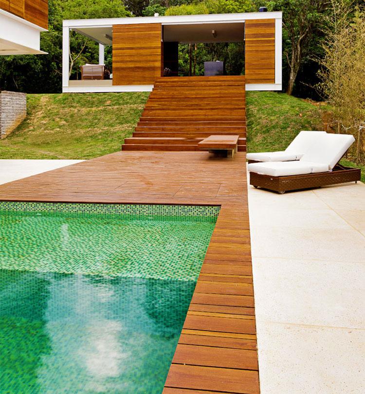 Photo of the modern design swimming pool # 21