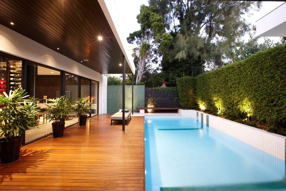 Photo of the modern design swimming pool # 07