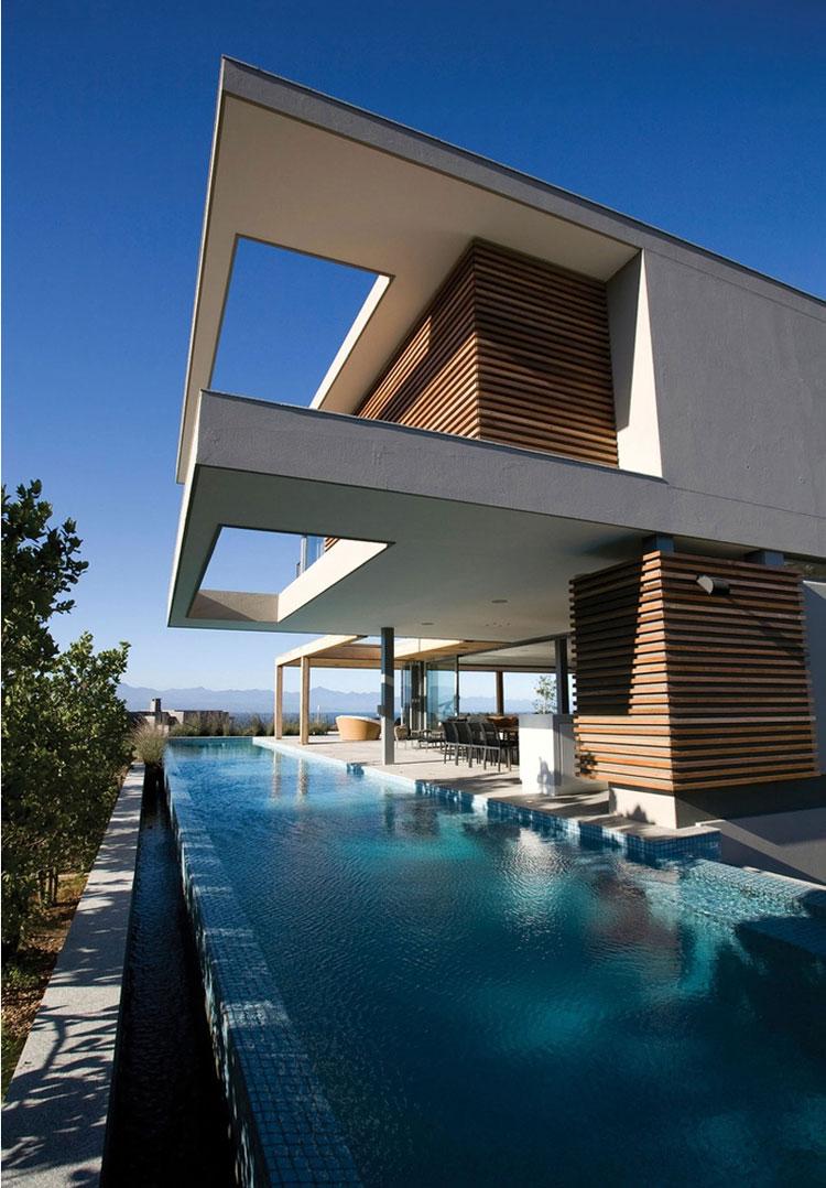 Photo of the modern design swimming pool # 22