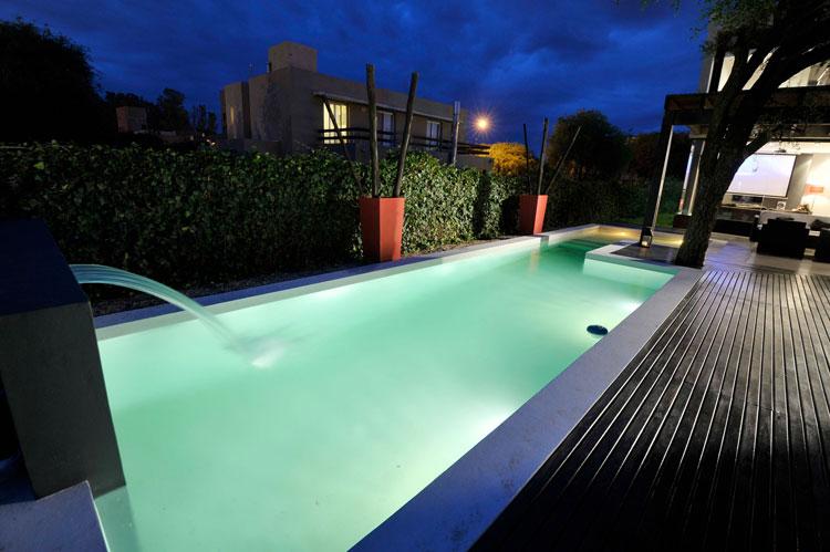 Photo of the modern design swimming pool # 25