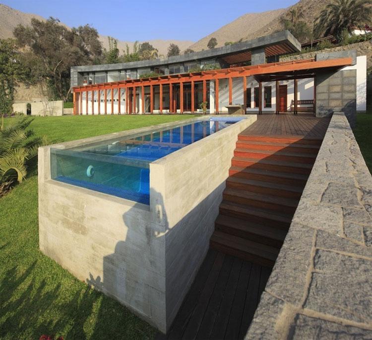Photo of the modern design swimming pool # 16