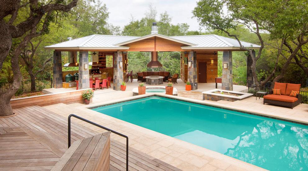 Photo of the modern design swimming pool # 09