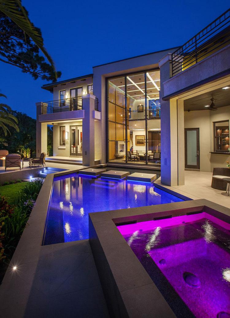 Photo of the modern design swimming pool # 08