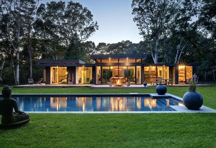 Photo of the modern design swimming pool # 17