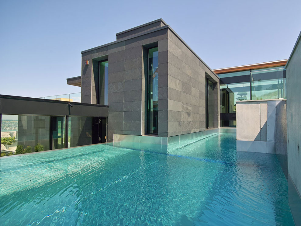 Photo of the modern design swimming pool # 30