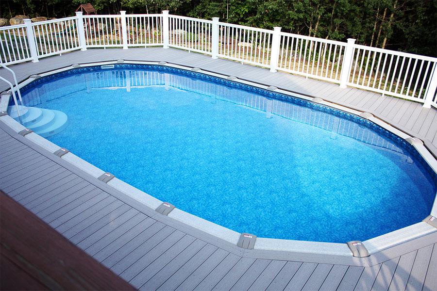 Modern above ground pool model n.05