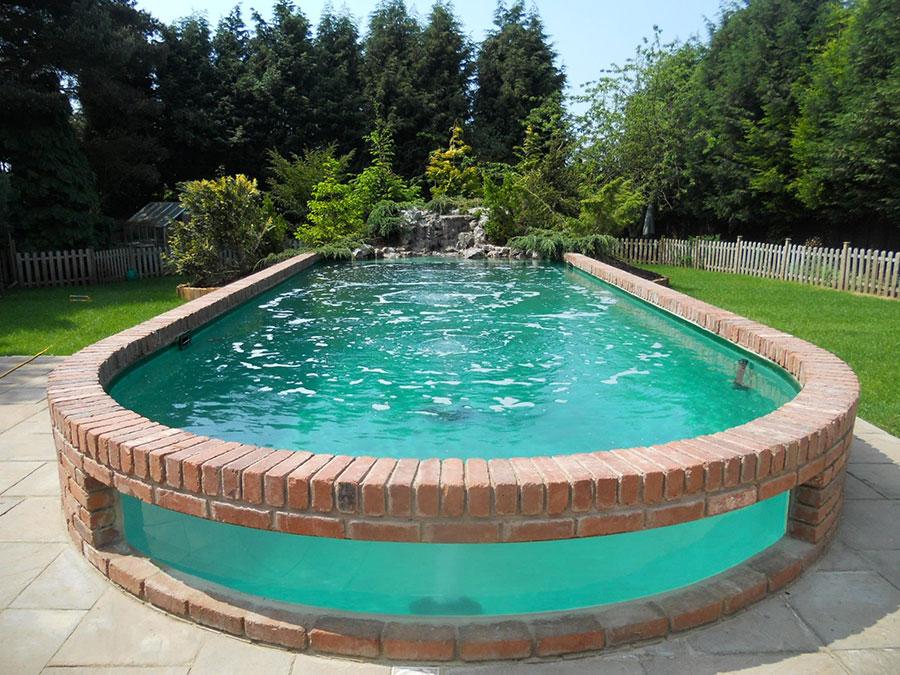 Modern above ground pool model n.03