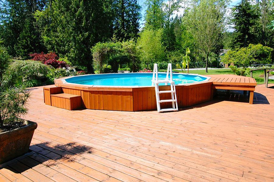Modern above ground pool model n.01