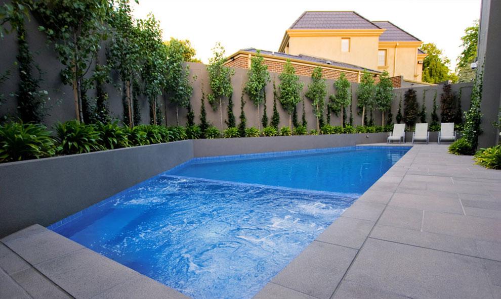 Photo of the modern design swimming pool # 29