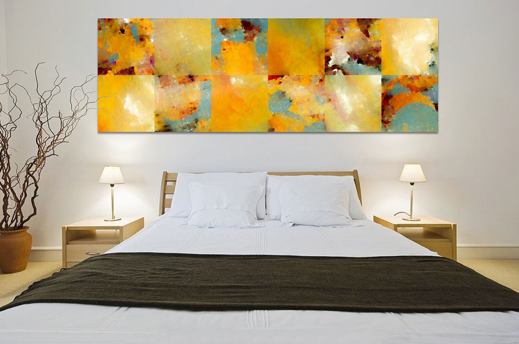Abstract painting for the bedroom n.02