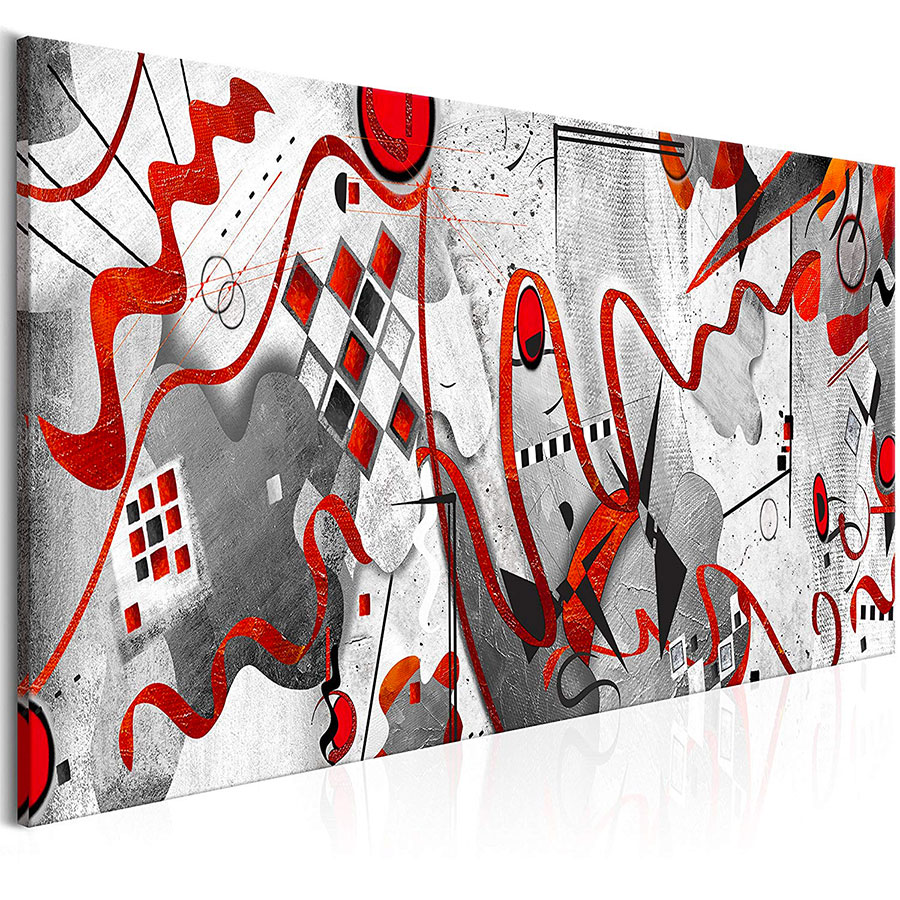 Abstract painting for the bedroom n.54