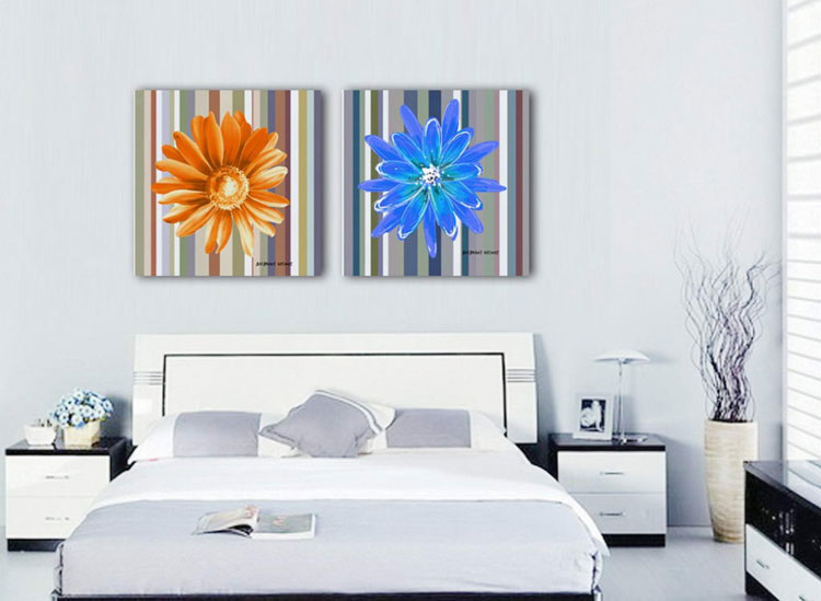Abstract painting for the bedroom n.19