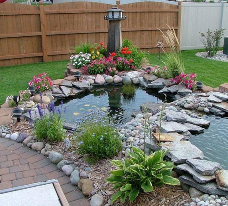 Photo of the garden pond n.13