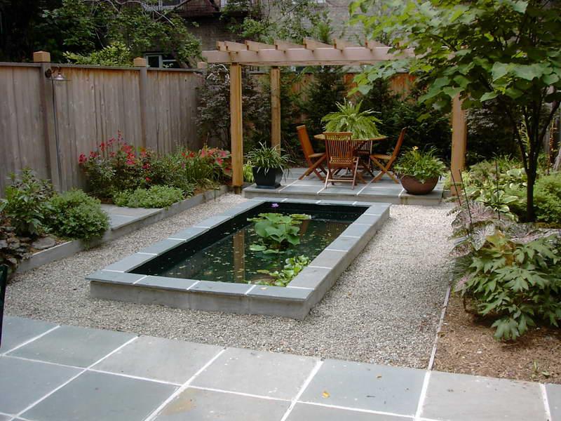 Photo of the garden pond n.20