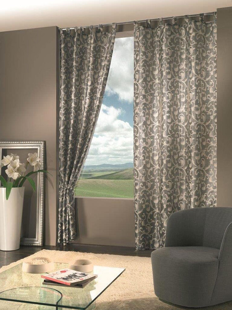 Classic dining room curtain pattern 10