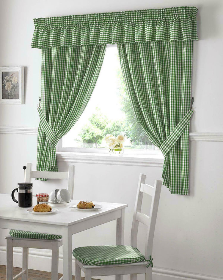 Classic Dining Room Curtain Pattern 14