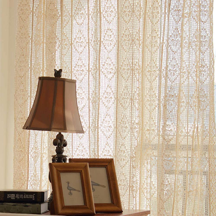Classic dining room curtains pattern 09