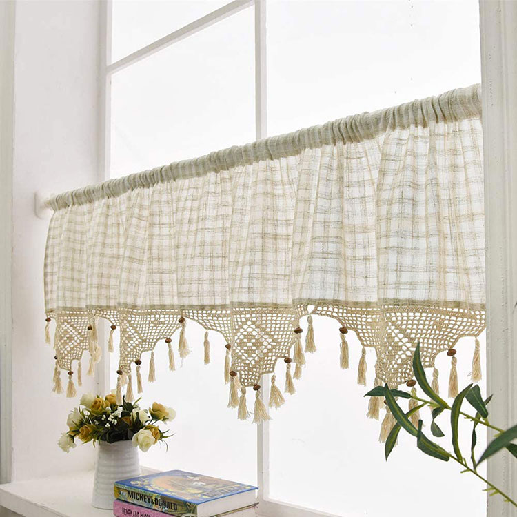 Classic dining room curtains pattern 15