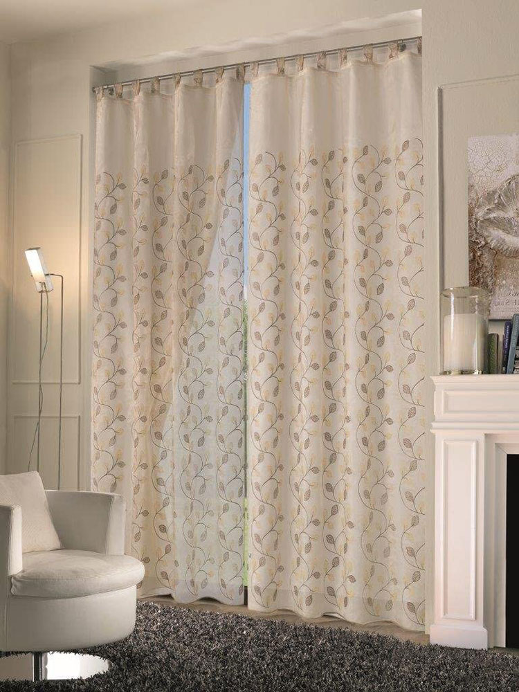 Classic dining room curtains pattern 03
