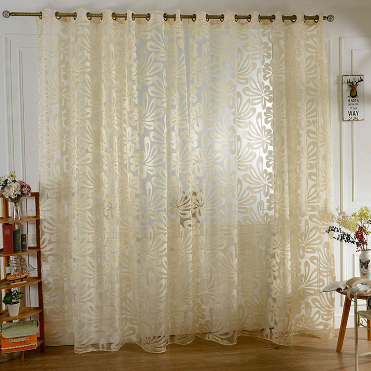 Classic dining room curtains pattern 05