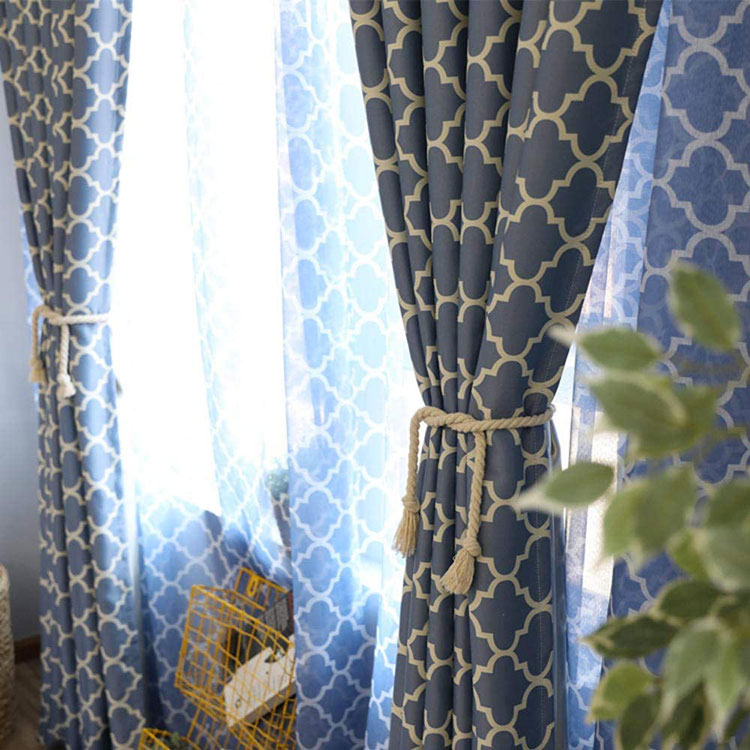 Classic dining room curtain pattern 11