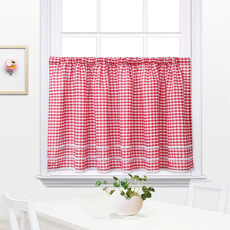 Classic dining room curtains pattern 13