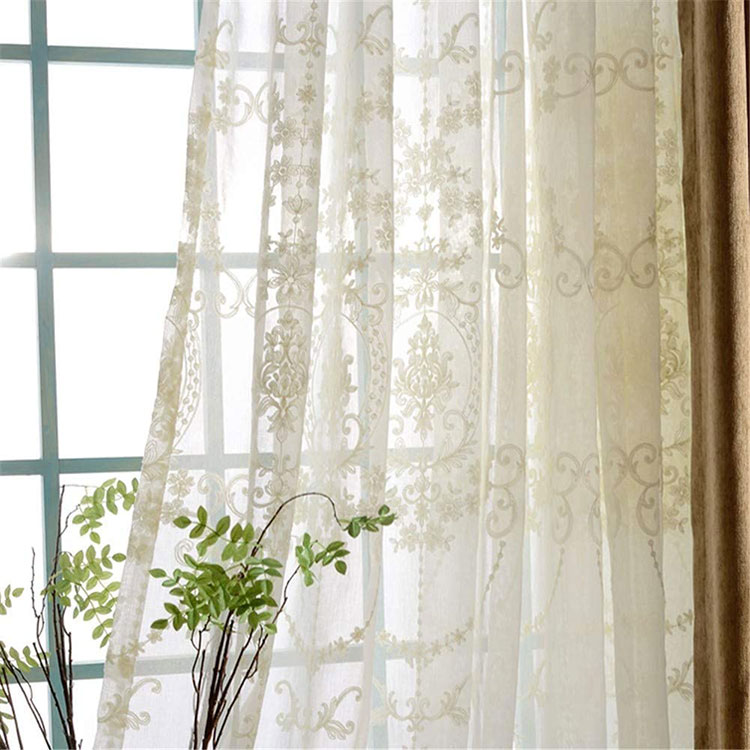 Classic dining room curtains pattern 07