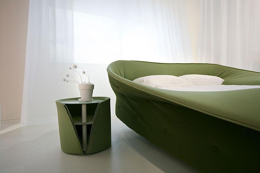 Modern design round bedside table model n.03