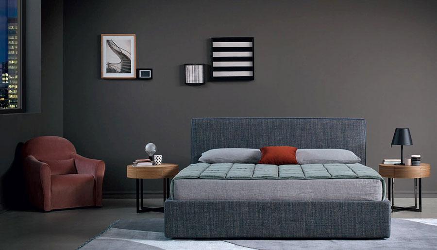 Modern design round bedside table model n.04
