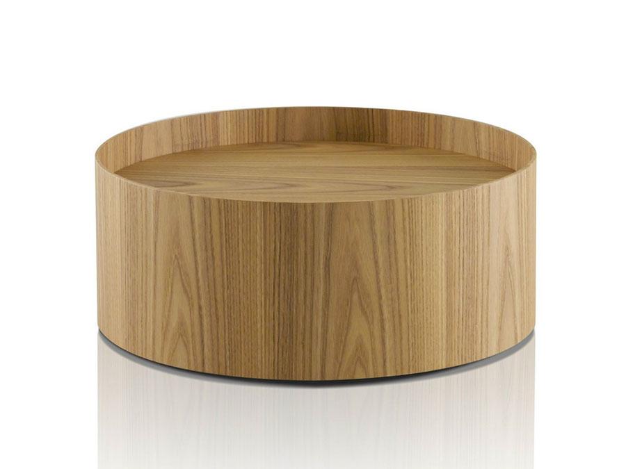 Modern design round bedside table model n.06