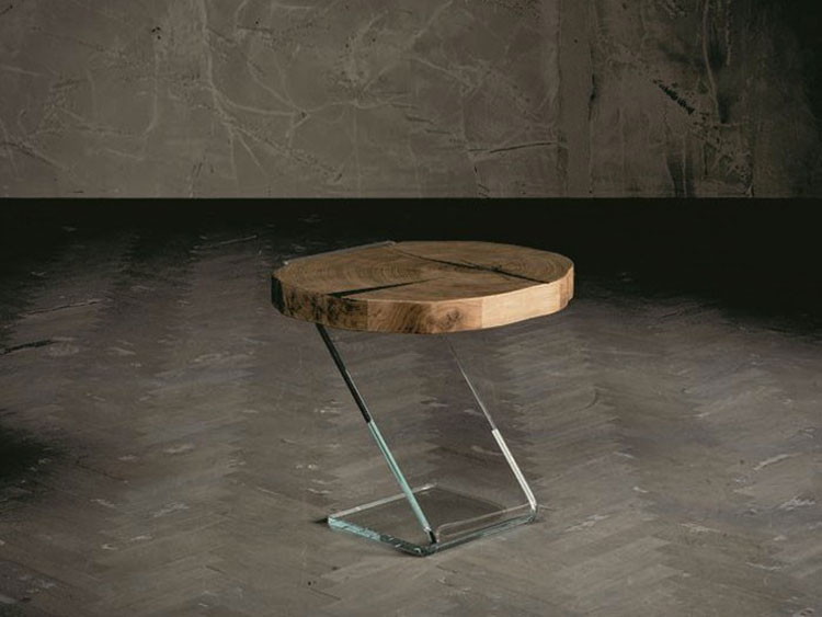 Modern design round bedside table model n.13