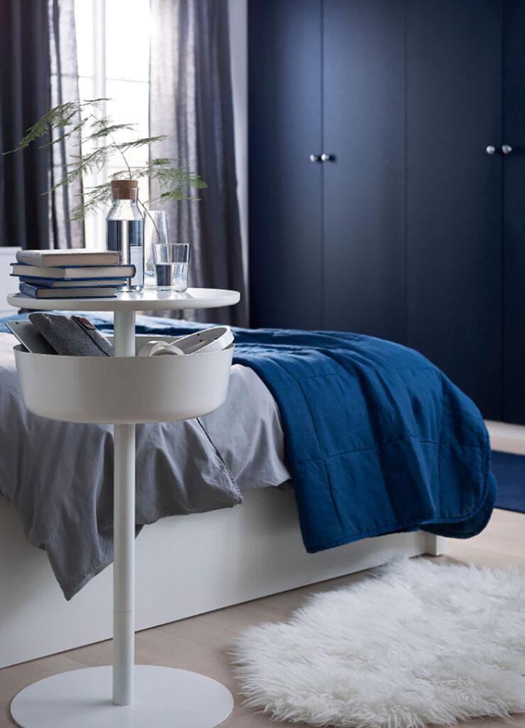 Ikea round nightstand model n.03