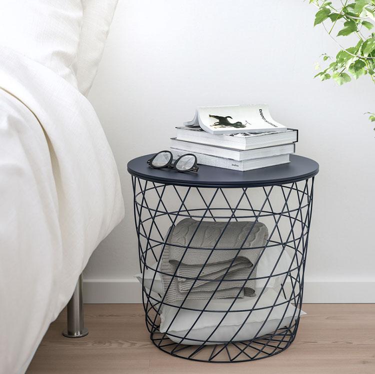 Ikea round nightstand model n.02