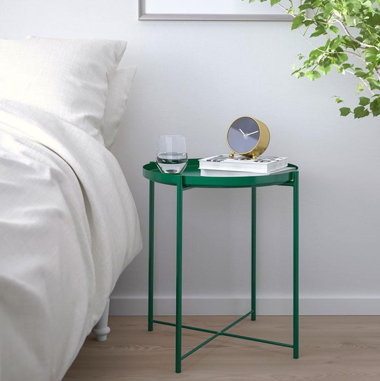 Ikea round nightstand model n.01
