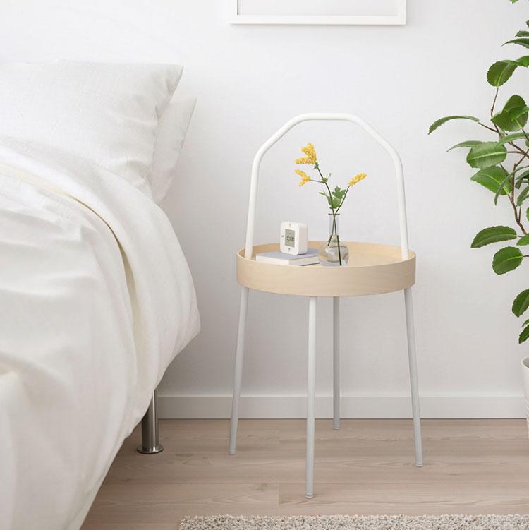 Ikea round nightstand model n.04