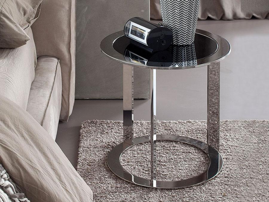 Modern design round bedside table model n.17