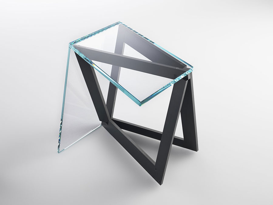 Glass coffee table model n.13