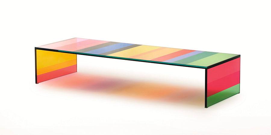 Glass coffee table model n.11