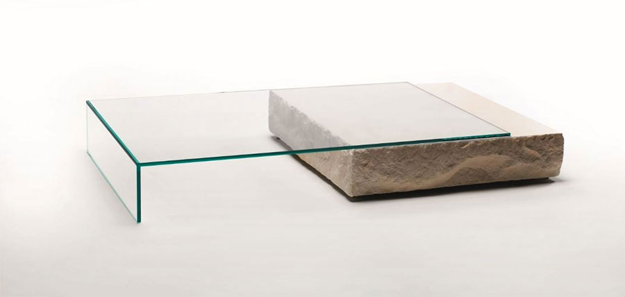 Glass coffee table model no.15