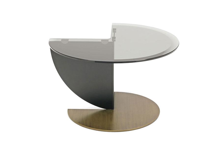 Glass coffee table model n.05