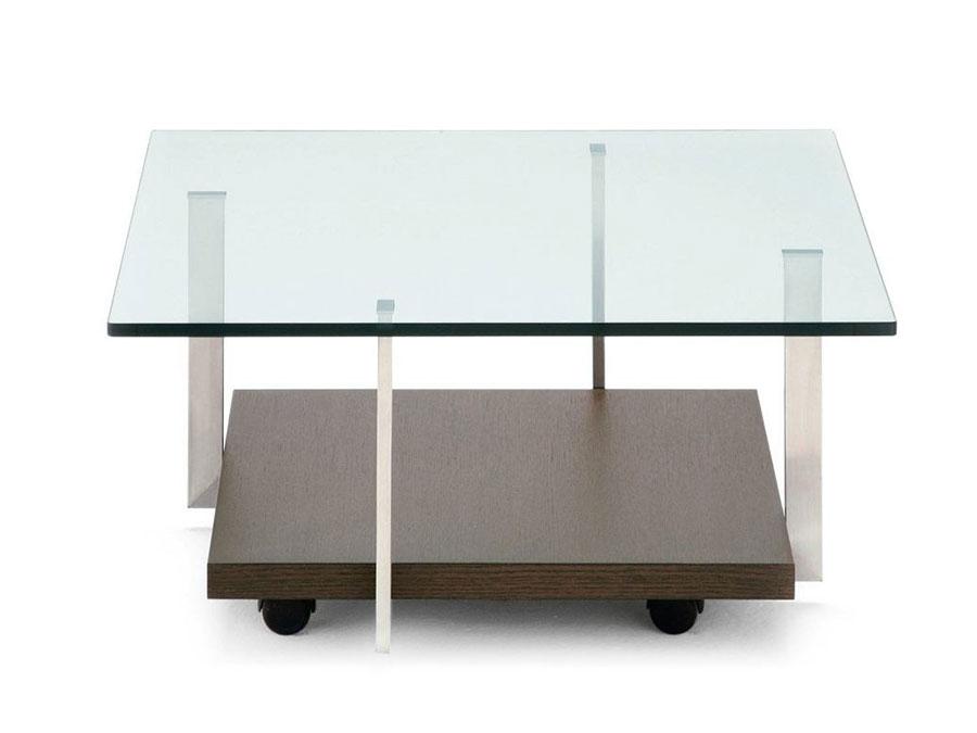 Glass coffee table model n.04