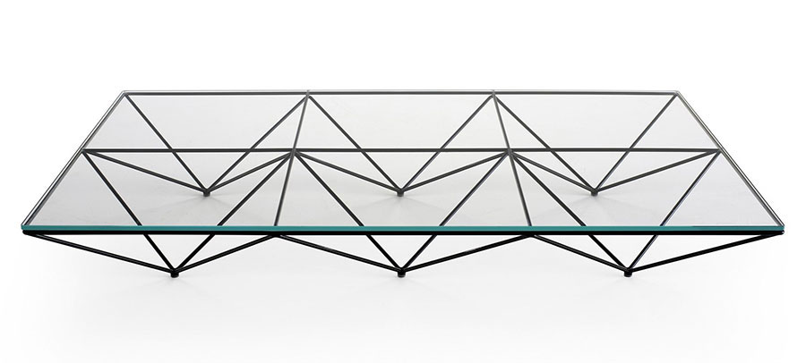 Glass coffee table model no.14
