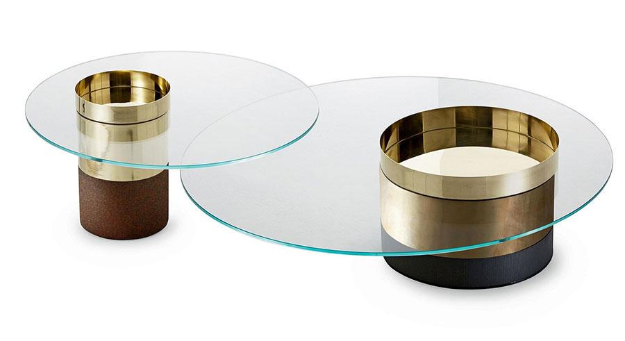 Glass coffee table model n.12