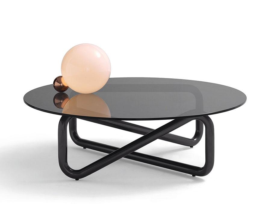 Glass coffee table model n.37