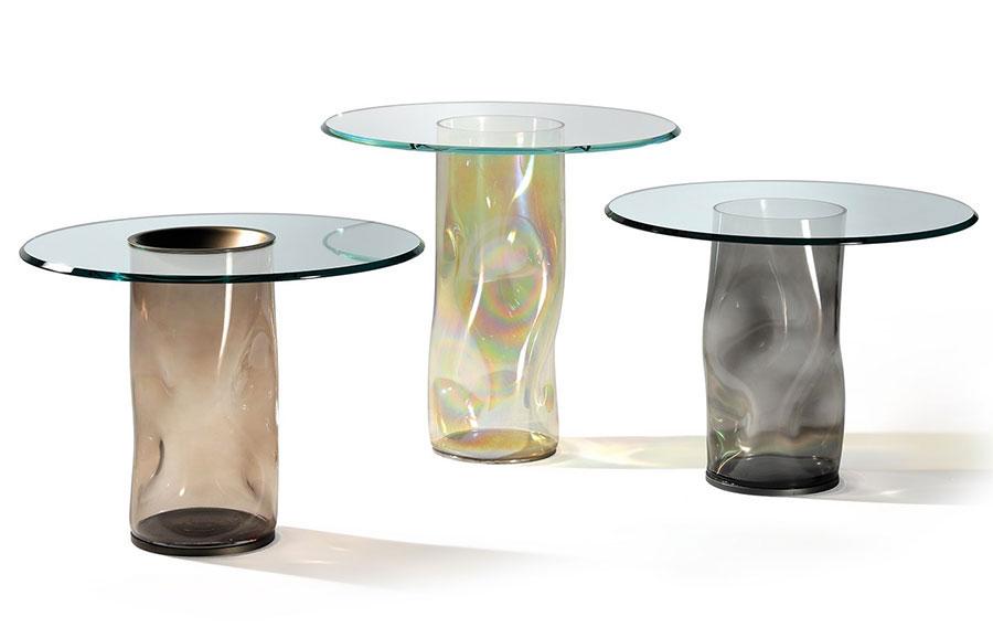 Glass coffee table model n.24