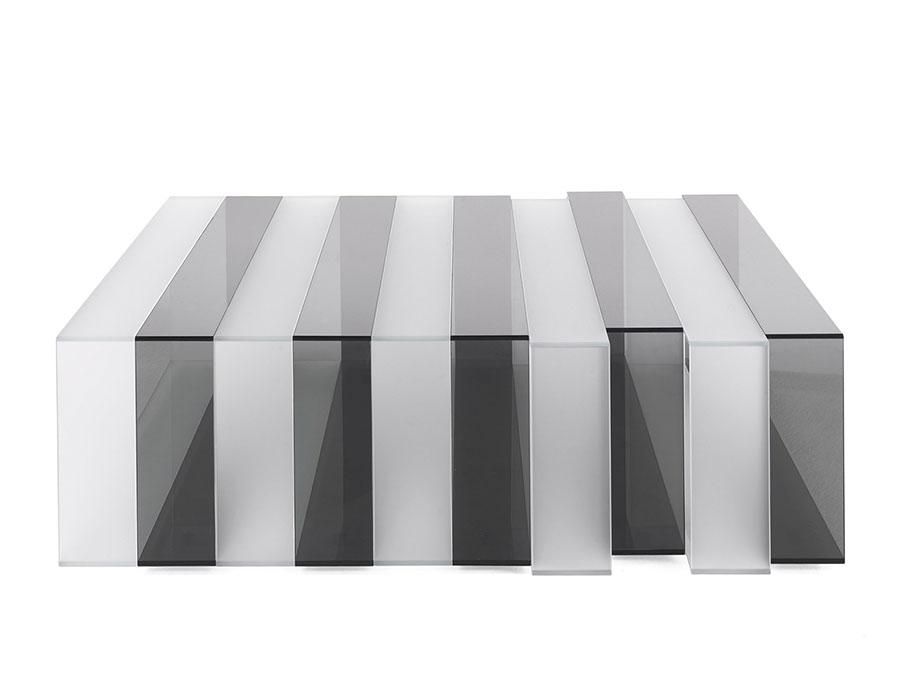 Glass coffee table model n.33