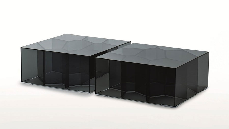 Glass coffee table model n.23